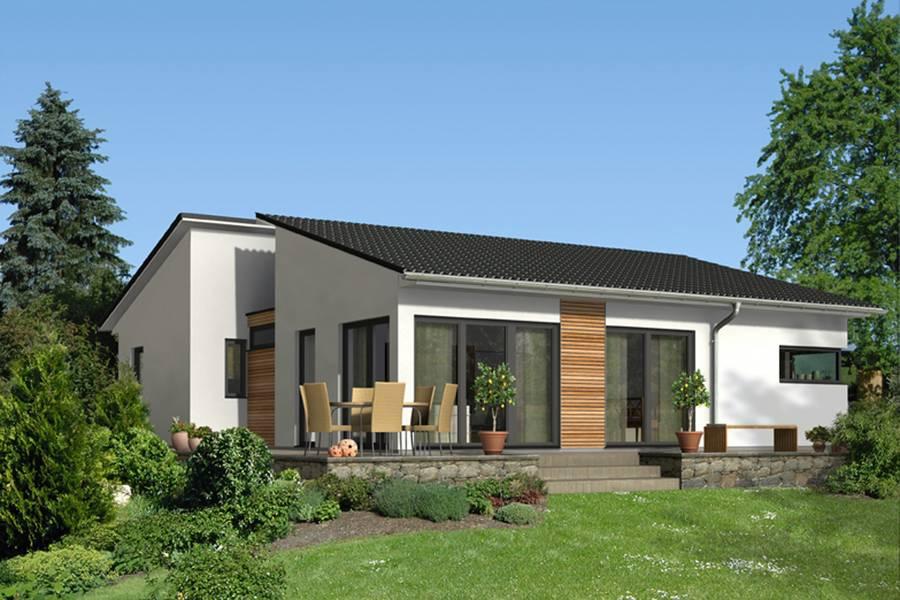 Fassadengestaltung bungalow  Flexibles Wohnen im Bungalow