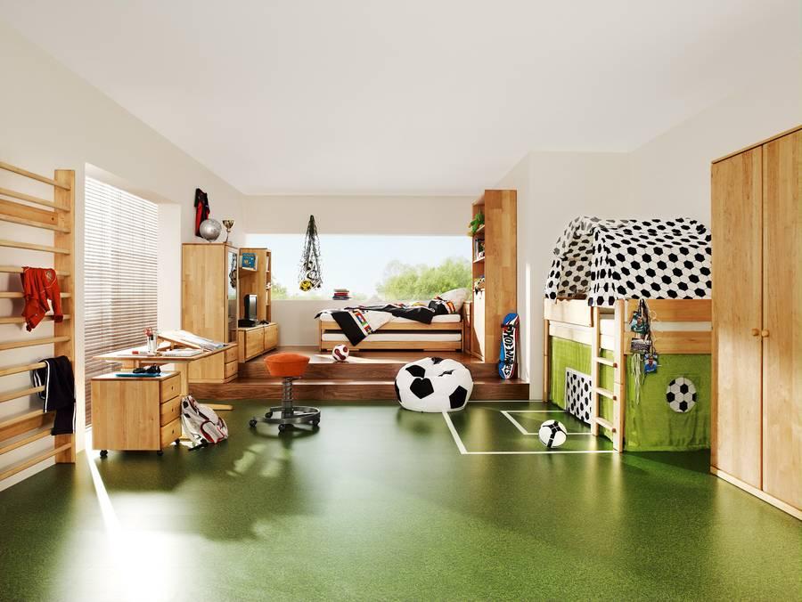 toben tollen turnen fantasie im kinderzimmer. Black Bedroom Furniture Sets. Home Design Ideas
