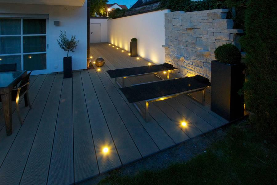 Freiraum f r lieblingspl tze - Beleuchtung terrasse ...