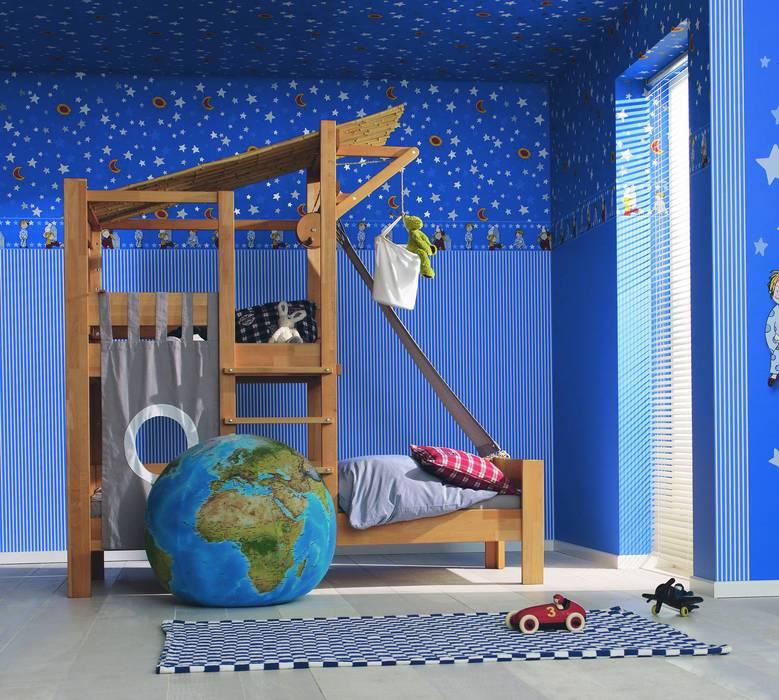 In der Farbpsychologie steht Blau für Ruhe, Entspannung und Harmonie ...