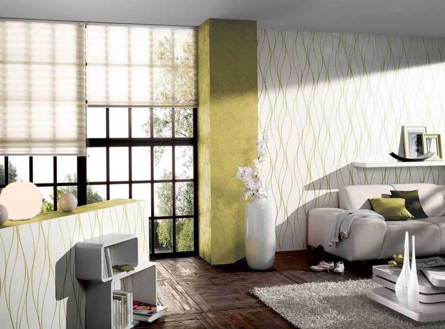Wandgestaltung mit farben und tapeten for Farben und tapeten