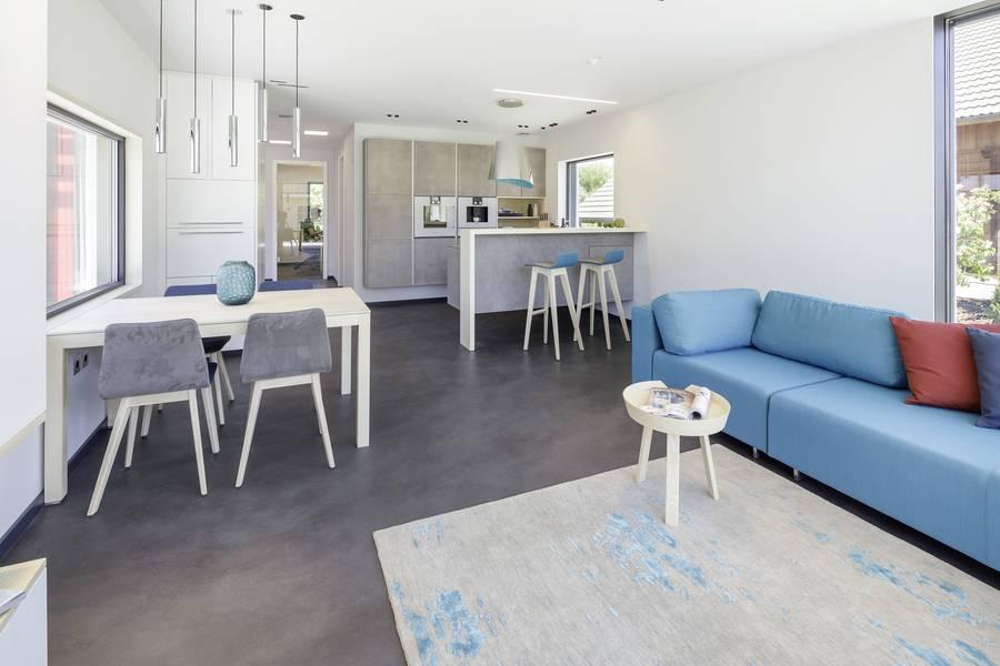 ein plus energie haus f r kleine grundst cke. Black Bedroom Furniture Sets. Home Design Ideas