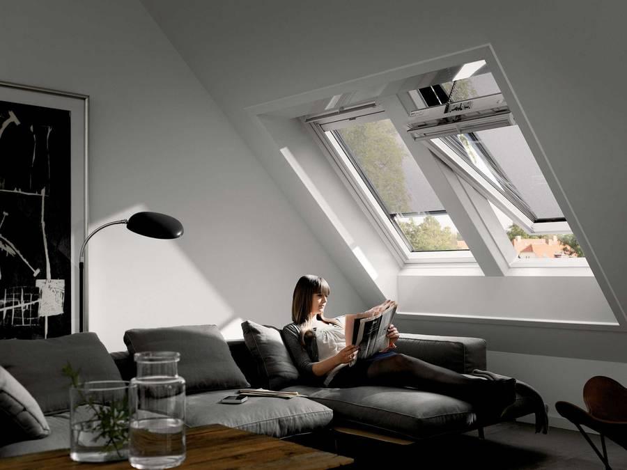 behaglicher sommer unterm dach. Black Bedroom Furniture Sets. Home Design Ideas