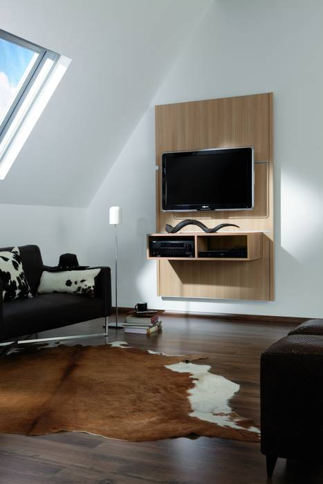 home entertainment ohne kabelsalat. Black Bedroom Furniture Sets. Home Design Ideas