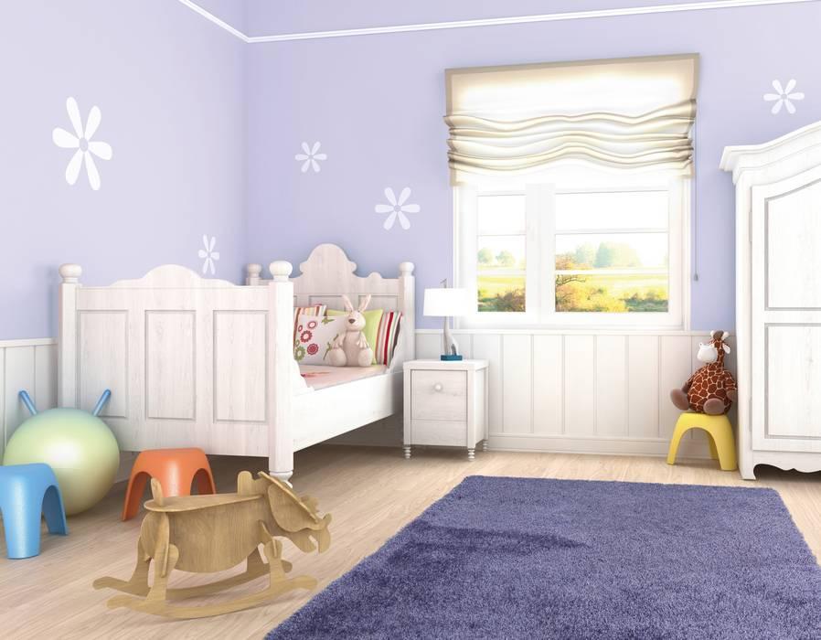 Bunt statt weiß - Wände werden farbig