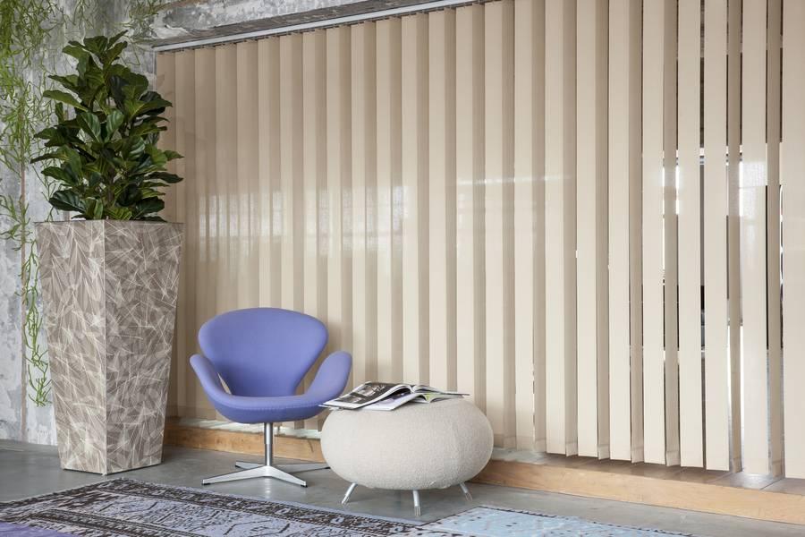 lamellenvorhang mit 3d effekt. Black Bedroom Furniture Sets. Home Design Ideas
