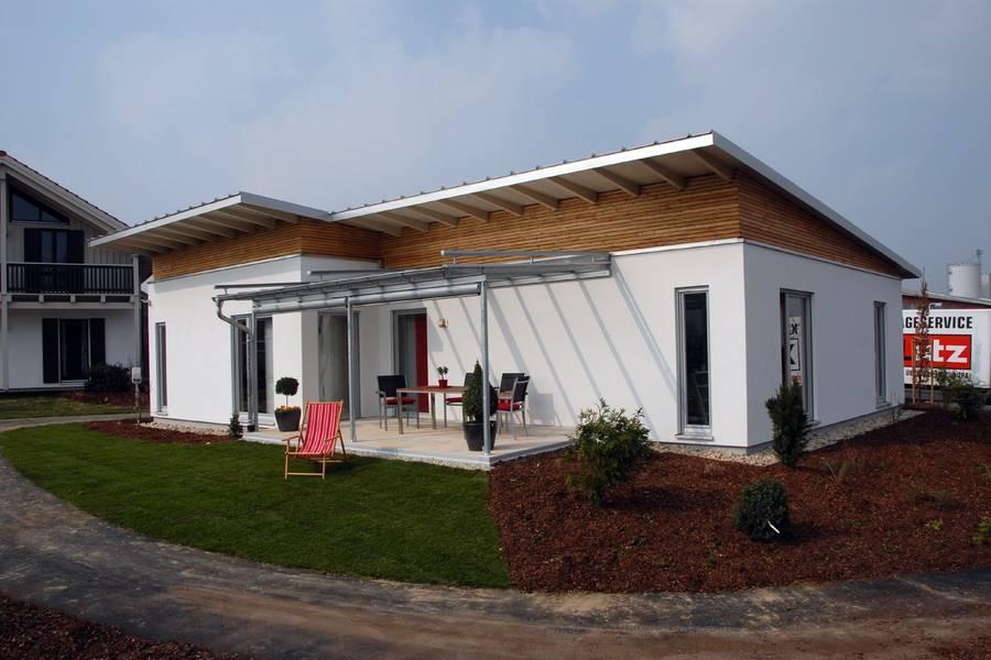 der moderne bungalow für angenehmen wohnkomfort & behaglichkeit, Garten und erstellen