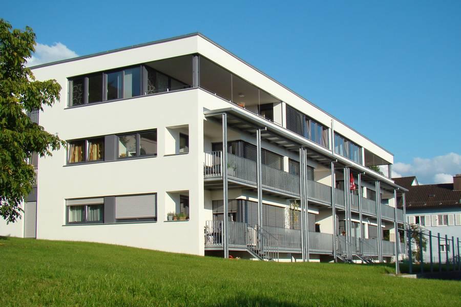 Moderne Mehrfamilienhäuser Bilder enev standard häuser mit ts ziegeln