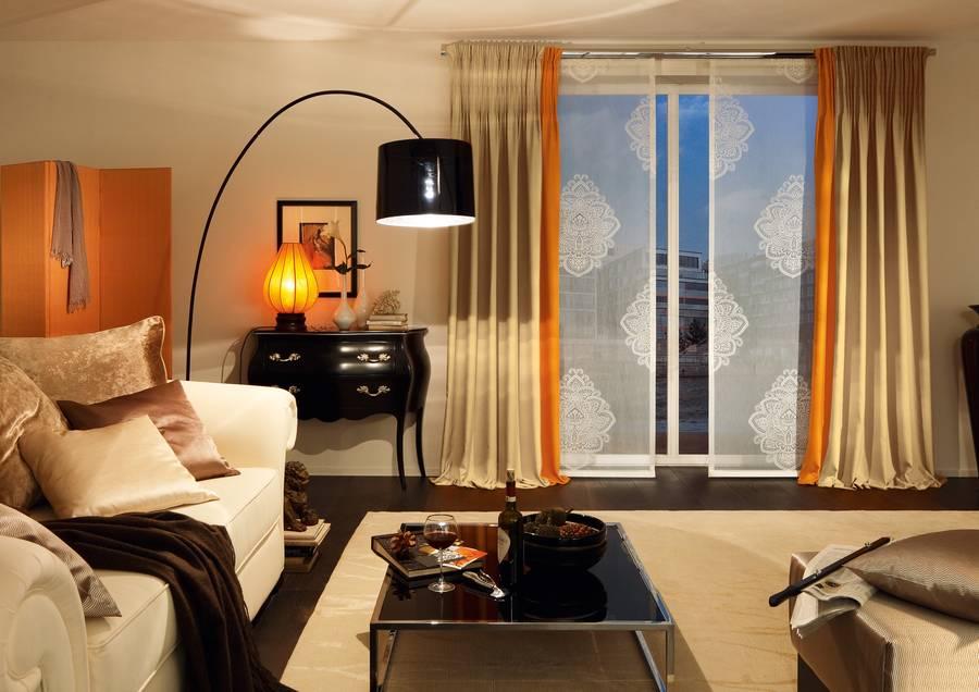 Fensterdeko f r den fr hling - Lichtkonzept wohnzimmer ...